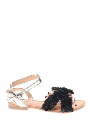 Сандали Gioseppo, Размер 36, Цвят Черен, Естествена кожа, еко кожа, Цена 27,59лв.