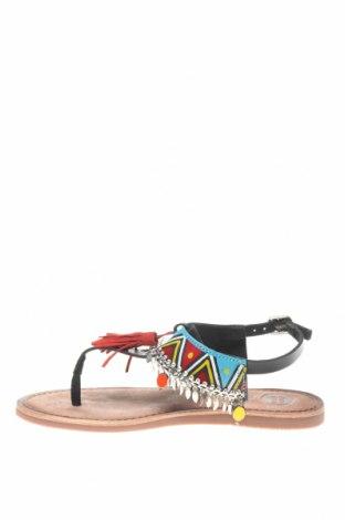 Сандали Gioseppo, Размер 36, Цвят Черен, Естествена кожа, Цена 42,72лв.