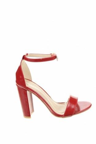 Сандали Glamorous, Размер 37, Цвят Червен, Еко кожа, Цена 44,25лв.