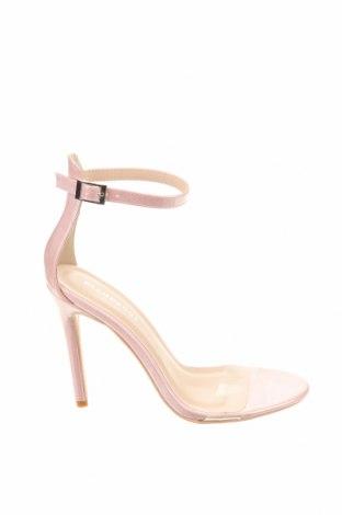 Сандали Glamorous, Размер 37, Цвят Розов, Еко кожа, Цена 44,25лв.