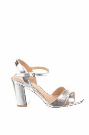 Σανδάλια Head Over Heels, Μέγεθος 40, Χρώμα Ασημί, Δερματίνη, Τιμή 18,58€