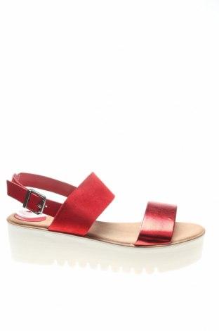 Σανδάλια Porronet, Μέγεθος 40, Χρώμα Κόκκινο, Γνήσιο δέρμα, Τιμή 27,53€