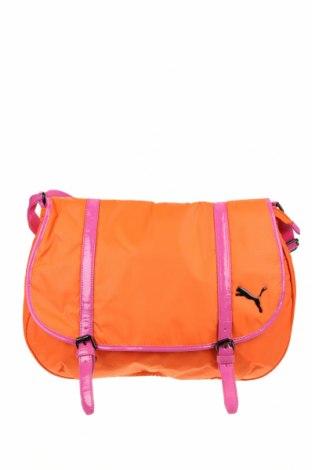 Спортна чанта PUMA, Цвят Оранжев, Текстил, еко кожа, Цена 51,17лв.