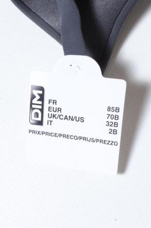 Сутиен Dim, Размер XS, Цвят Сив, 53% полиамид, 39% полиестер, 8% еластан, Цена 31,50лв.