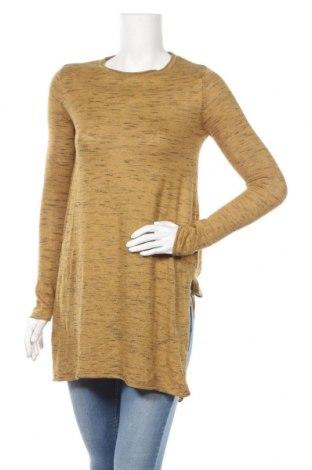 Τουνίκ Zara Knitwear, Μέγεθος S, Χρώμα Κίτρινο, 65% πολυεστέρας, 35% βαμβάκι, Τιμή 15,14€