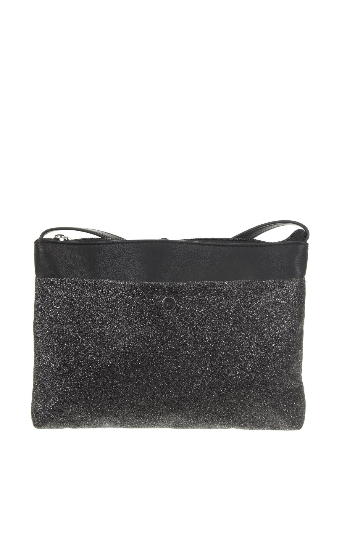 Дамска чанта, Цвят Черен, Еко кожа, Цена 18,62лв.