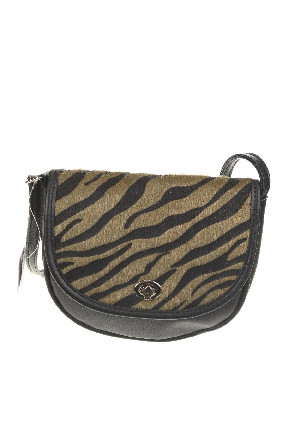 Γυναικεία τσάντα House, Χρώμα Μαύρο, Δερματίνη, κλωστοϋφαντουργικά προϊόντα, Τιμή 12,16€