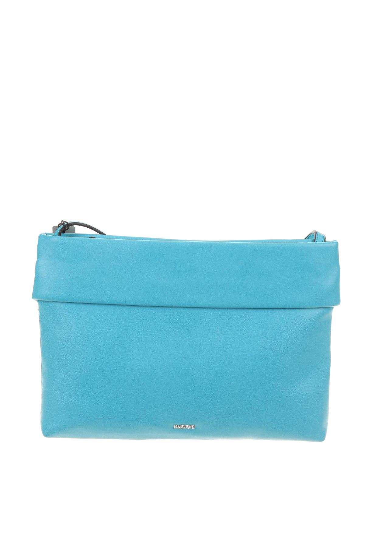 Дамска чанта Parfois, Цвят Син, Еко кожа, Цена 18,62лв.