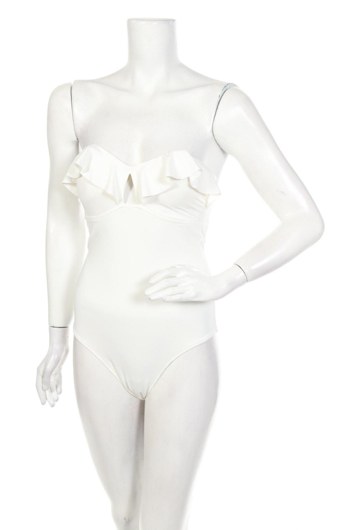 Дамски бански Women'secret, Размер L, Цвят Бял, 87% полиамид, 13% еластан, Цена 26,22лв.