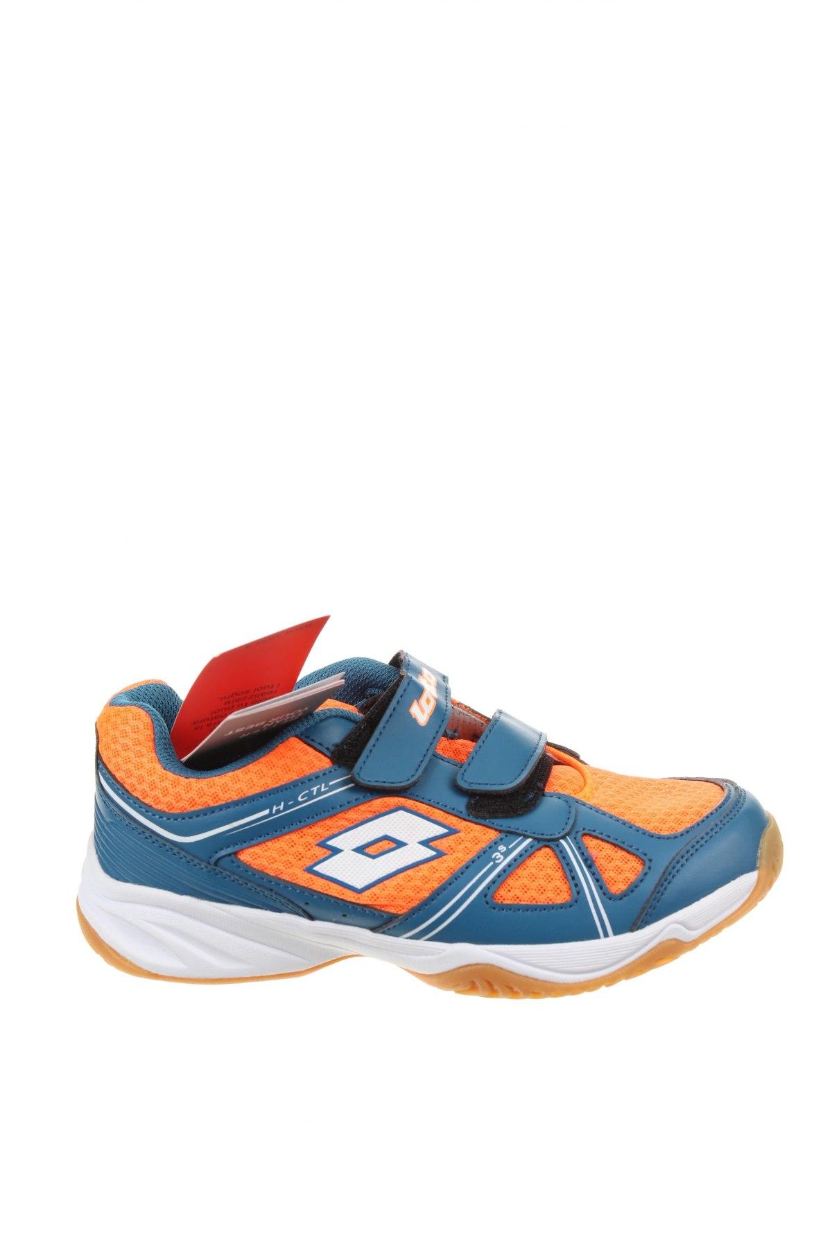 Детски обувки Lotto, Размер 35, Цвят Син, Еко кожа, текстил, Цена 66,75лв.