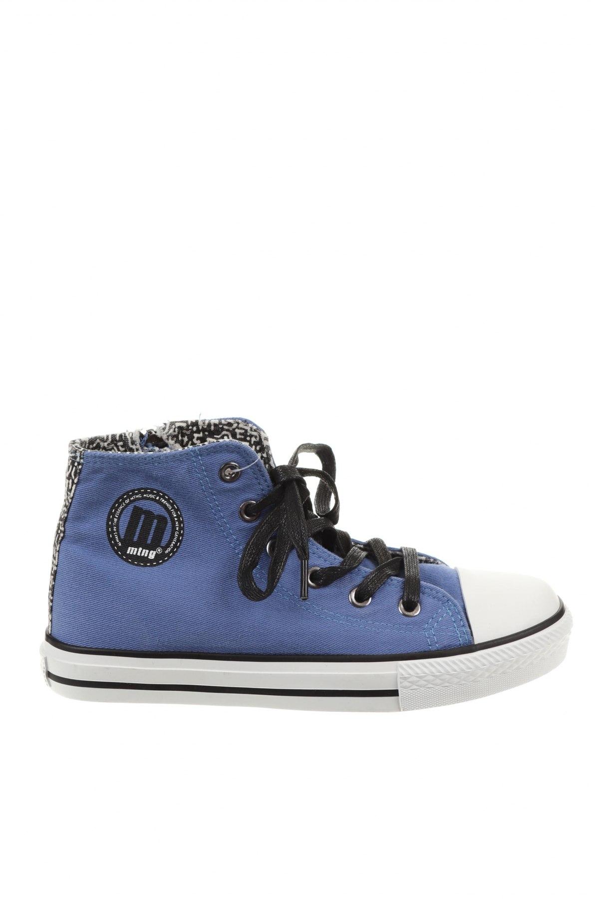 Дамски обувки Mtng, Размер 36, Цвят Син, Текстил, Цена 24,06лв.