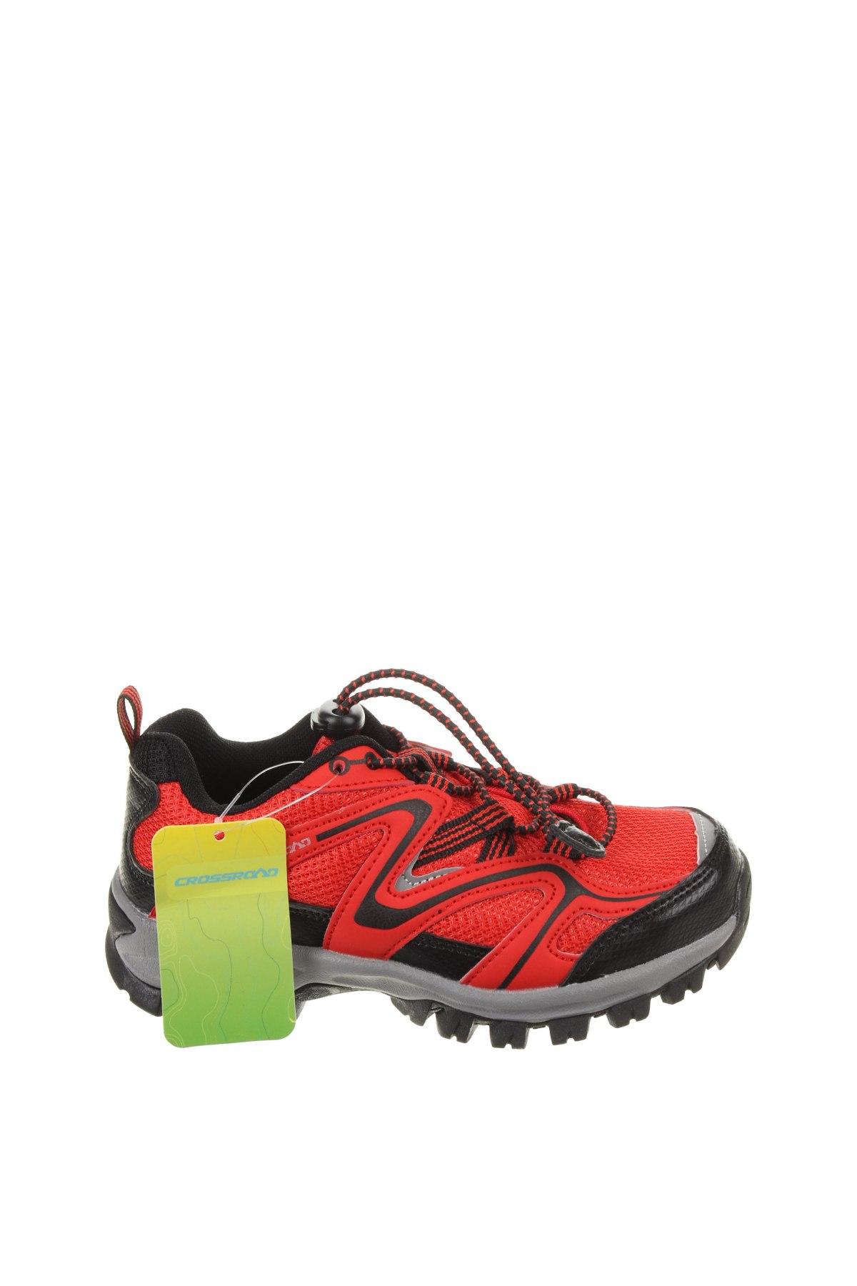 Детски обувки, Размер 30, Цвят Червен, Текстил, еко кожа, Цена 24,78лв.