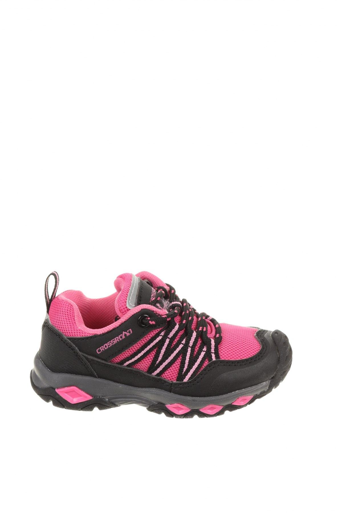 Детски обувки, Размер 25, Цвят Черен, Текстил, еко кожа, Цена 23,01лв.