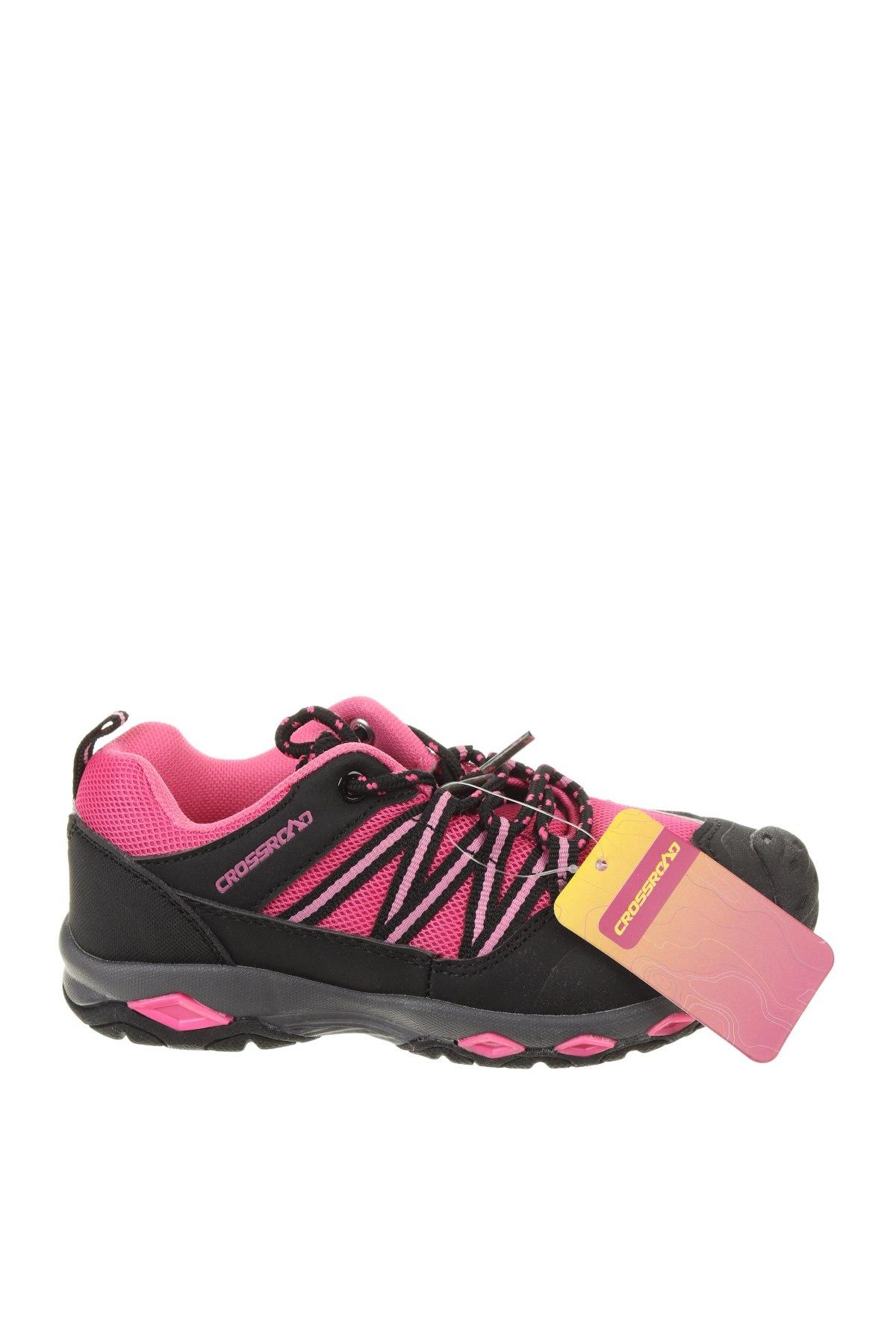 Детски обувки, Размер 30, Цвят Черен, Текстил, еко кожа, Цена 23,01лв.