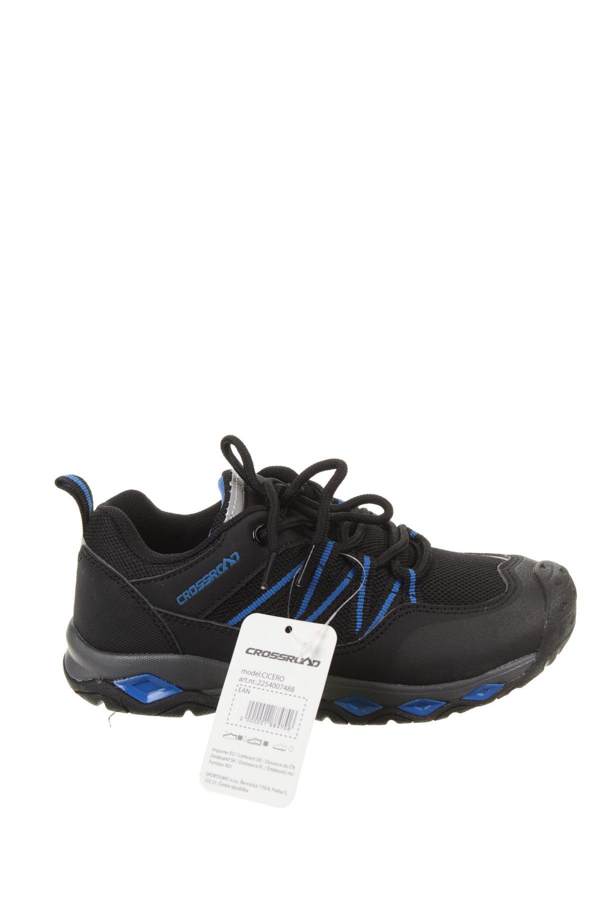 Детски обувки, Размер 31, Цвят Черен, Еко кожа, текстил, Цена 27,14лв.
