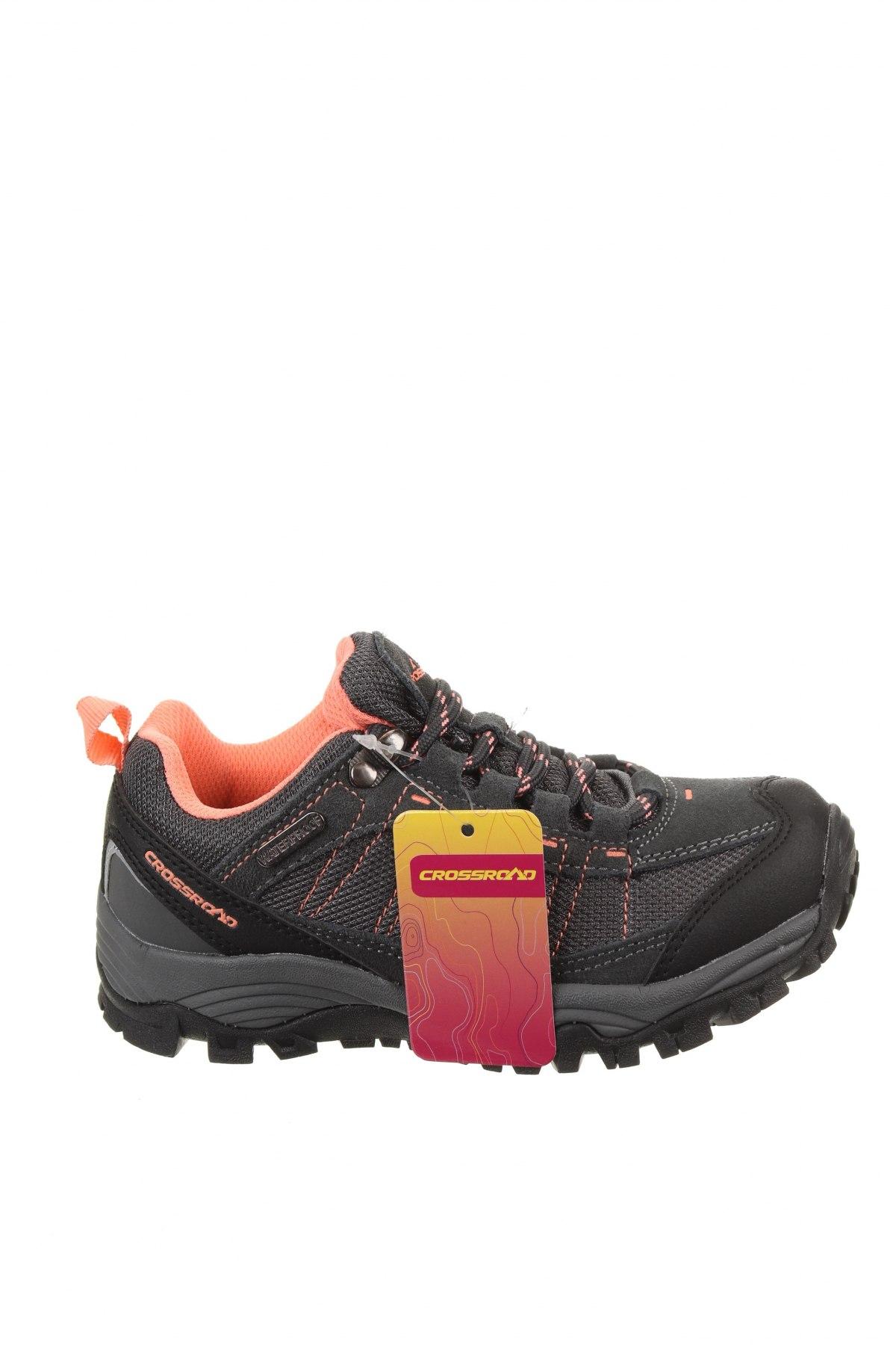 Детски обувки, Размер 31, Цвят Сив, Еко кожа, текстил, Цена 33,81лв.