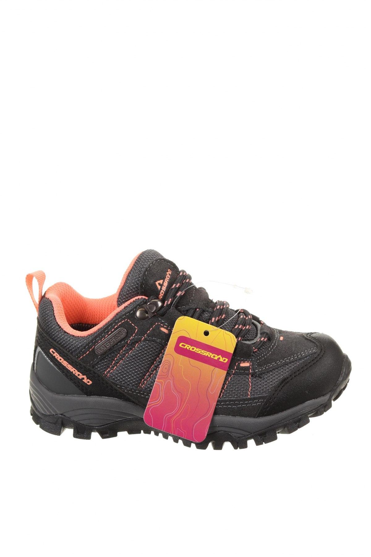 Детски обувки, Размер 30, Цвят Сив, Текстил, еко кожа, естествен велур, Цена 39,33лв.