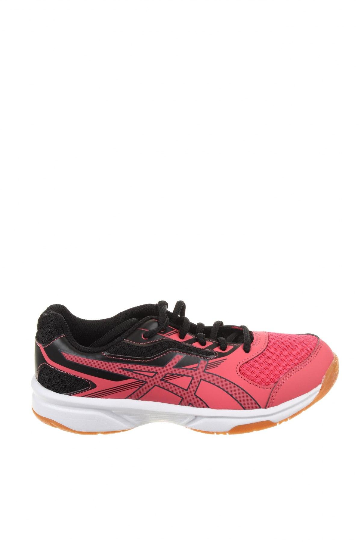 Детски обувки ASICS, Размер 35, Цвят Розов, Еко кожа, текстил, Цена 38,70лв.