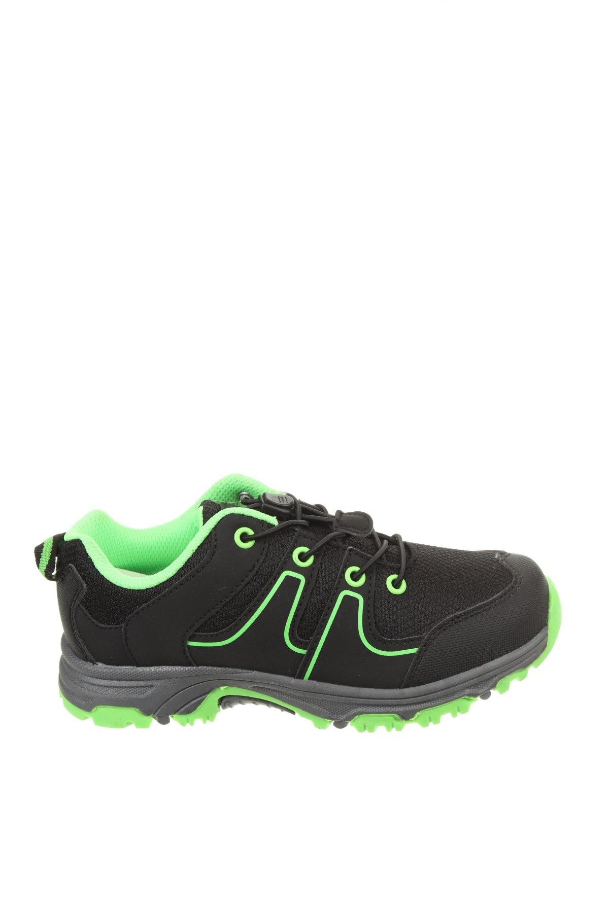 Детски обувки Alpine Pro, Размер 33, Цвят Черен, Текстил, еко кожа, Цена 33,81лв.