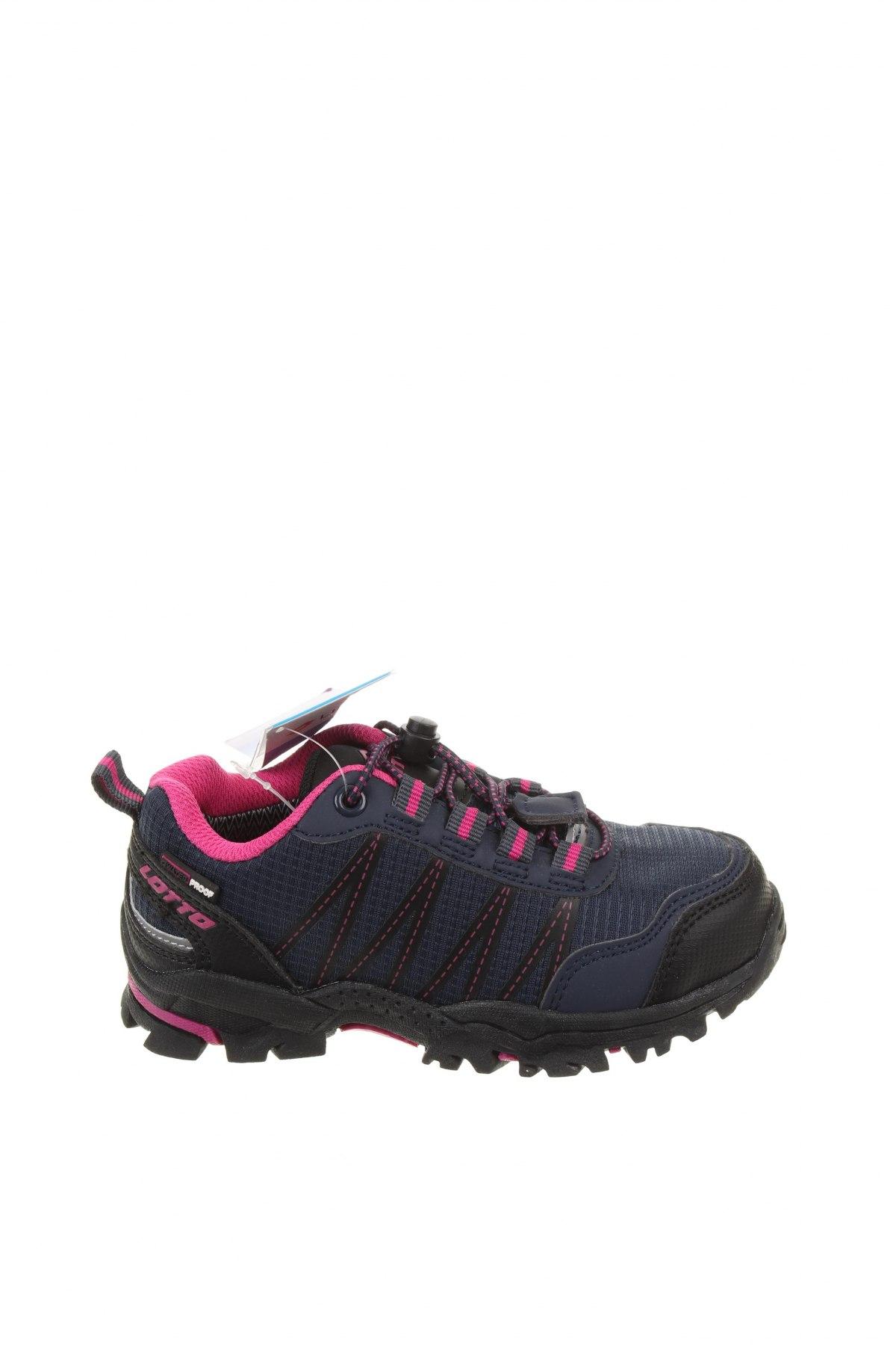 Детски обувки Lotto, Размер 28, Цвят Син, Еко кожа, текстил, Цена 38,27лв.