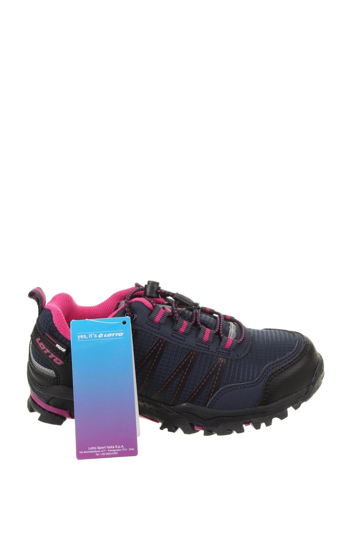 Детски обувки Lotto, Размер 31, Цвят Син, Текстил, еко кожа, Цена 38,27лв.