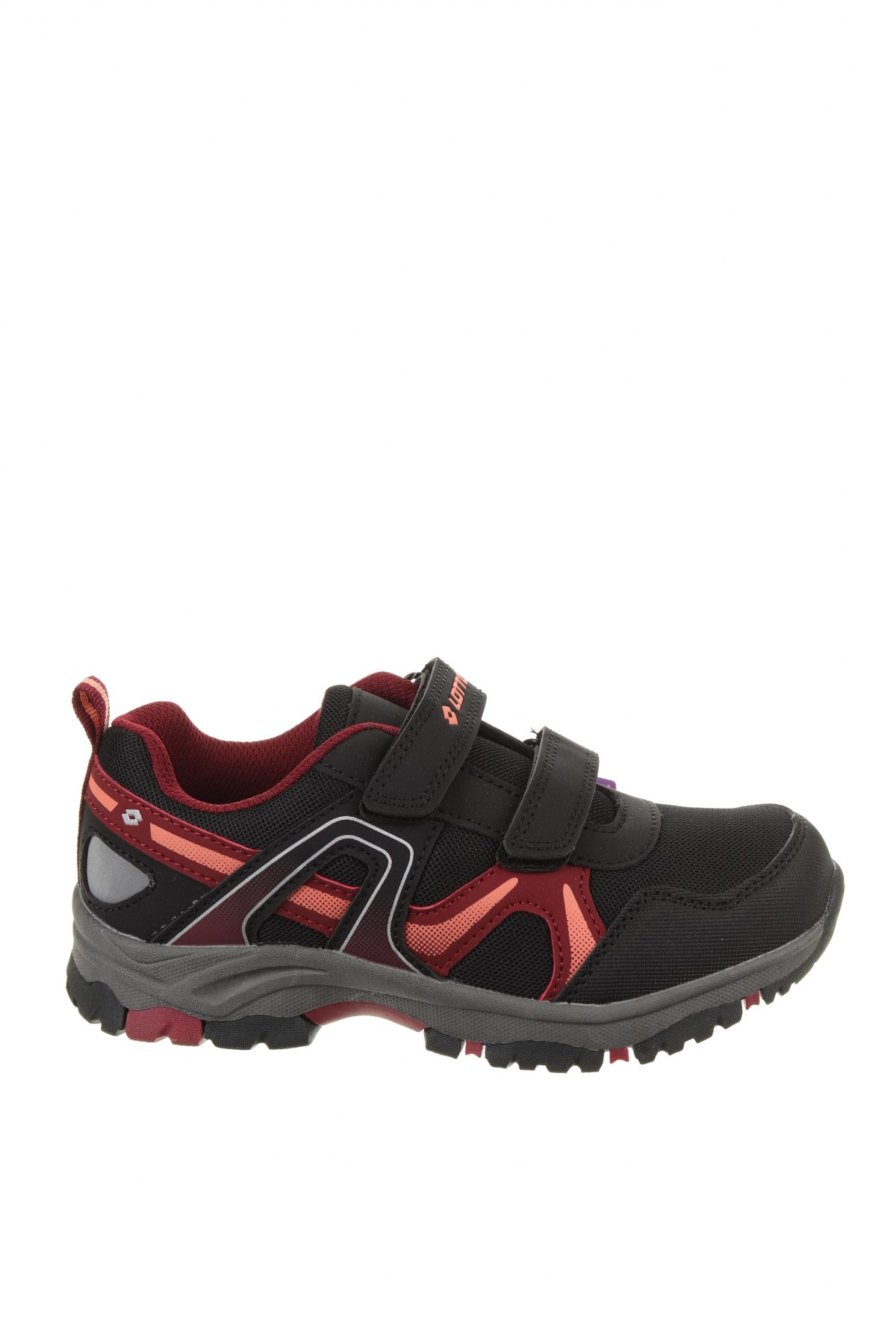 Детски обувки Lotto, Размер 33, Цвят Черен, Еко кожа, текстил, Цена 32,93лв.