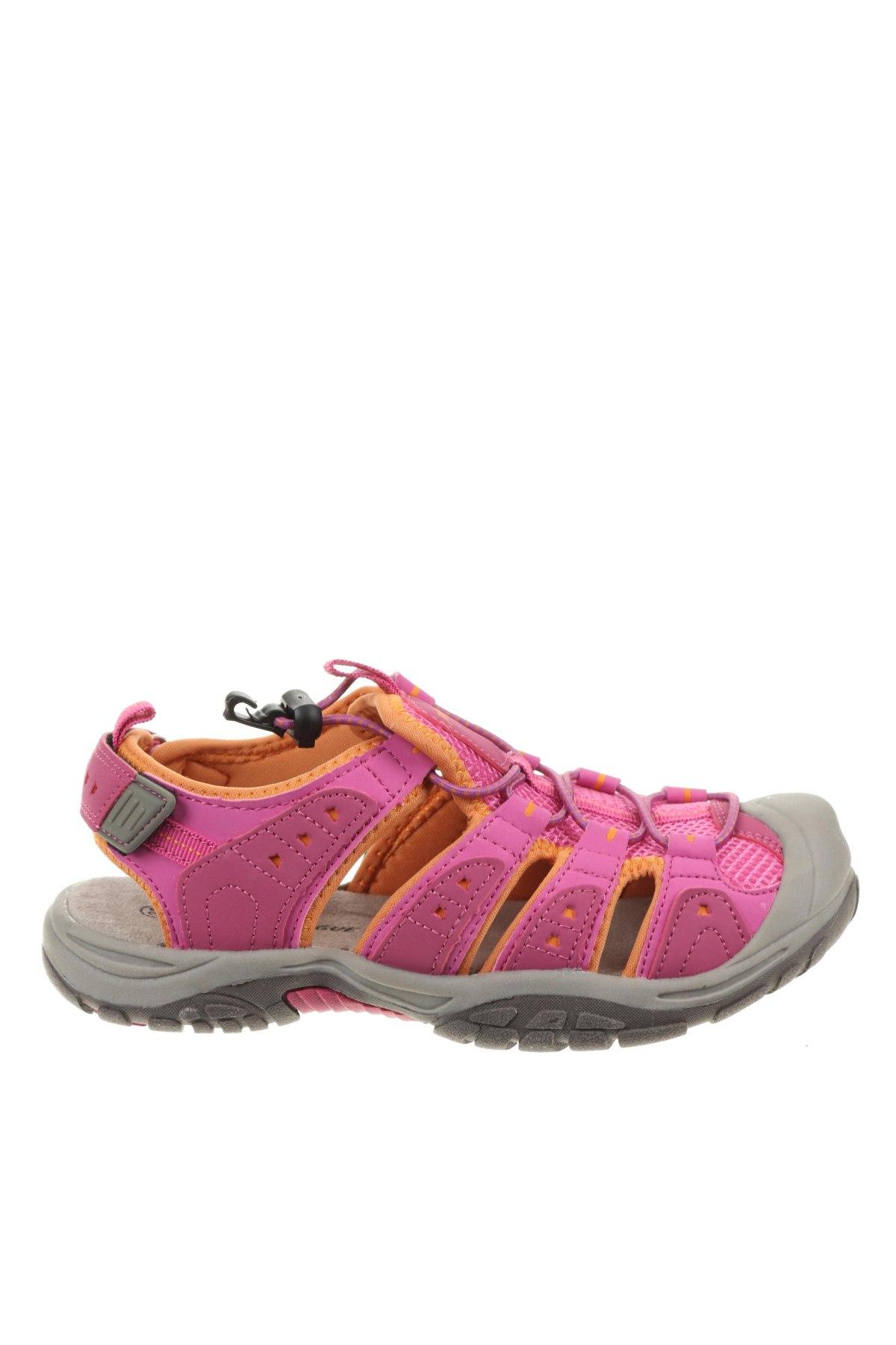 Детски сандали, Размер 35, Цвят Розов, Еко кожа, текстил, Цена 35,77лв.
