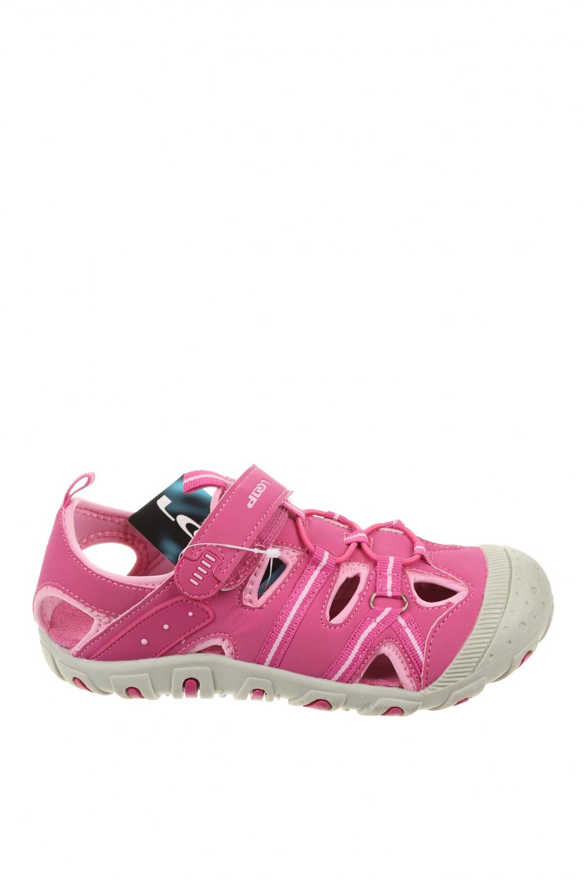 Детски сандали Loap, Размер 33, Цвят Розов, Еко кожа, Цена 29,40лв.
