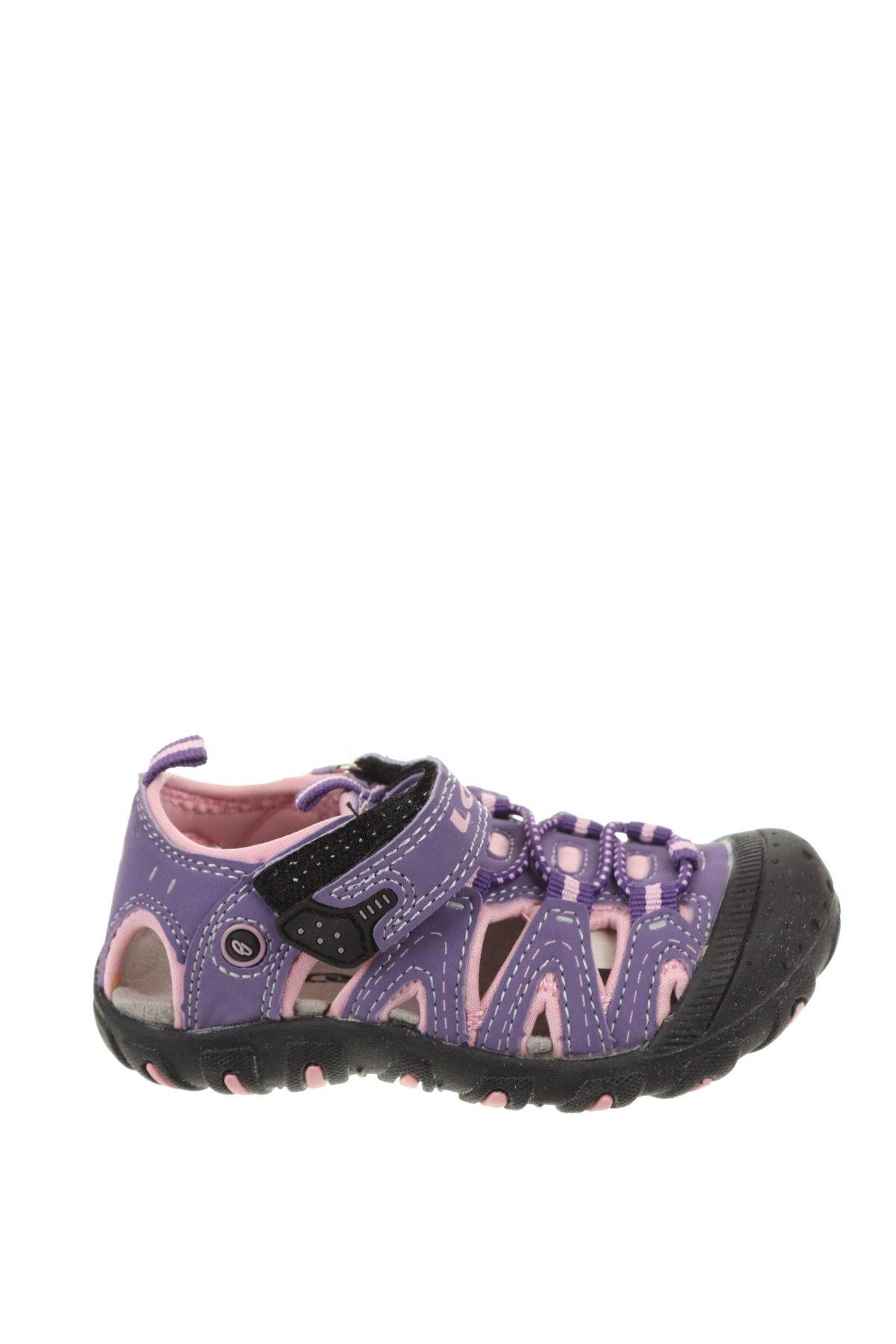 Детски сандали Loap, Размер 24, Цвят Лилав, Еко кожа, Цена 24,50лв.