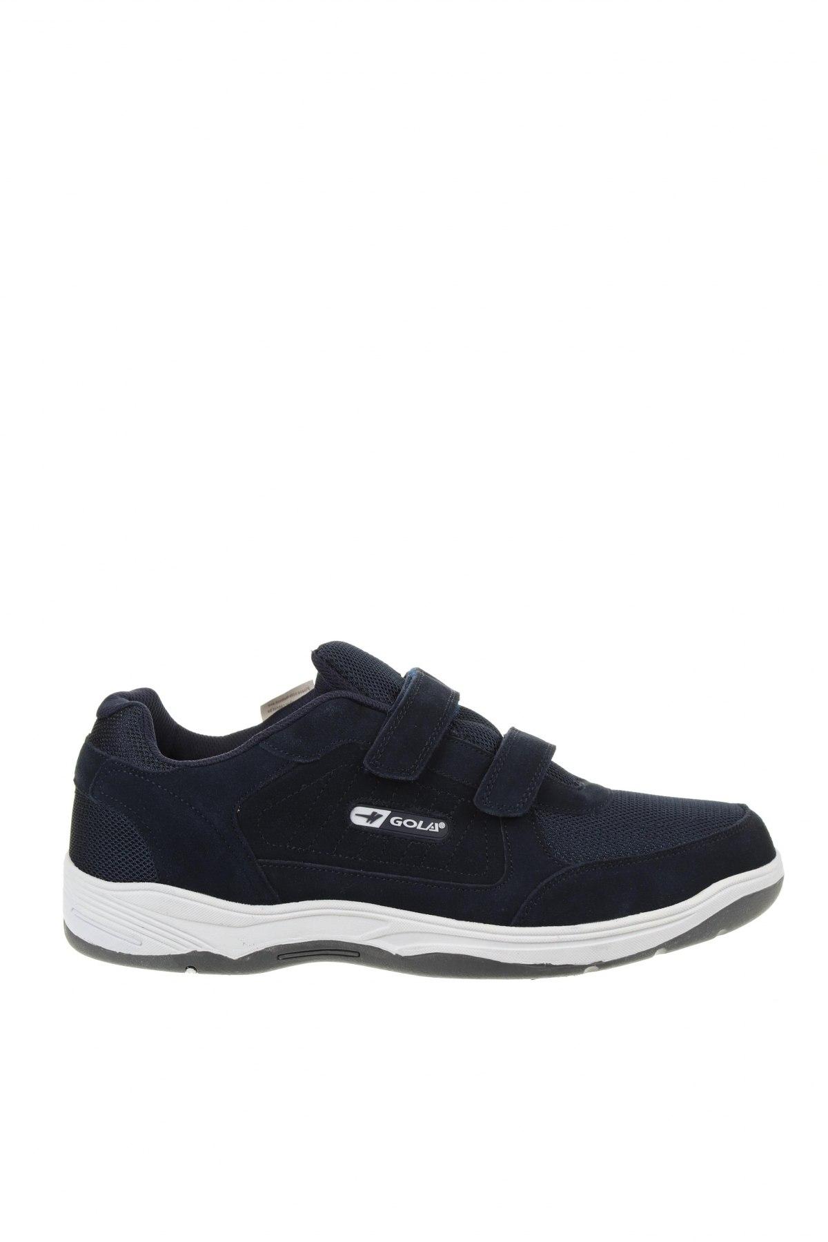 Мъжки обувки Gola, Размер 49, Цвят Син, Текстил, естествен велур, Цена 58,05лв.