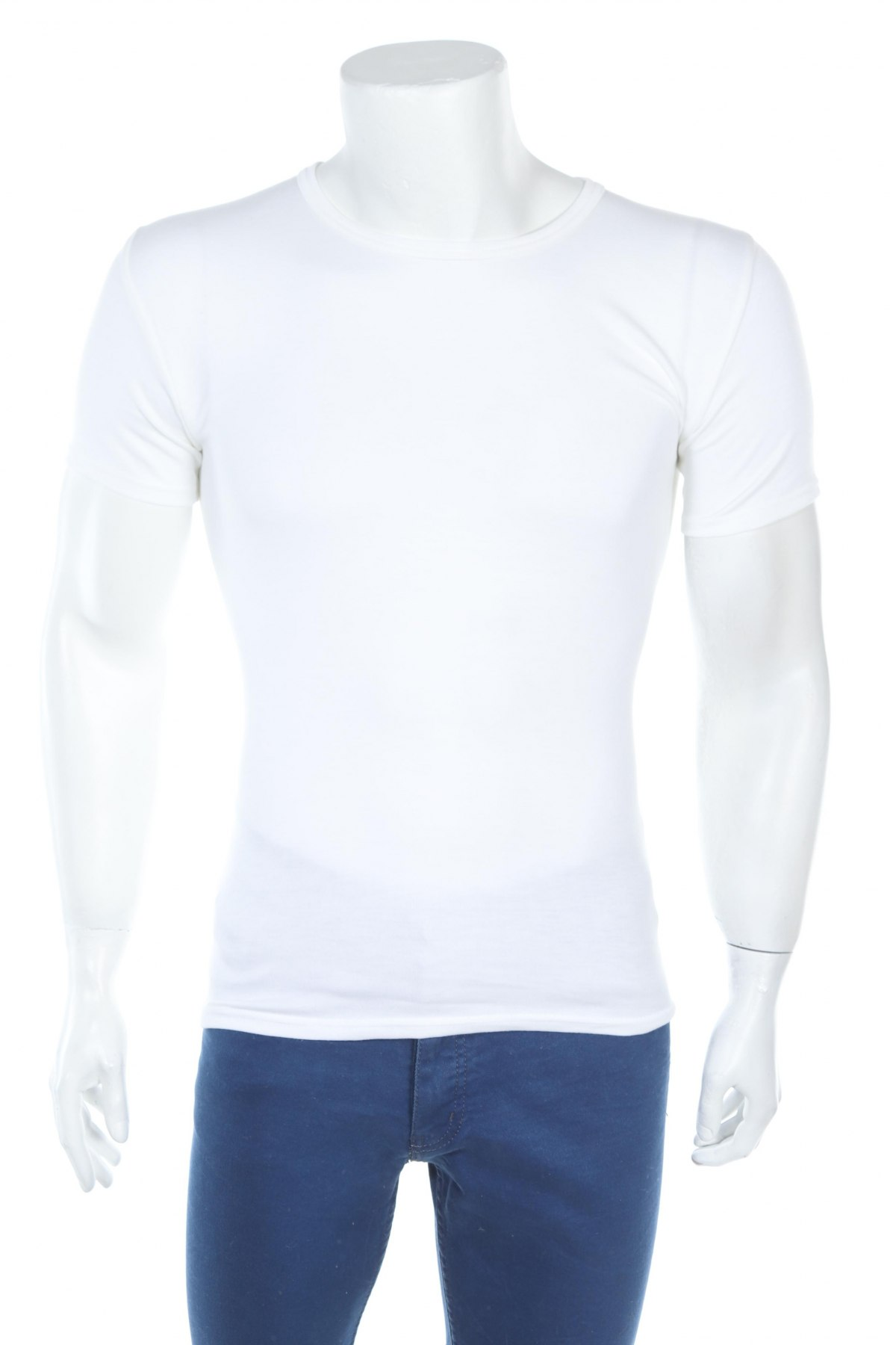 Мъжко бельо Abanderado, Размер S, Цвят Бял, 50% полиестер, 50% акрил, Цена 14,82лв.