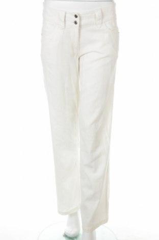 Дамски панталон Vila, Размер S, Цвят Екрю, 45% вискоза, 55% лен, Цена 6,38лв.