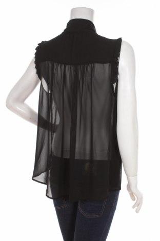 Γυναικείο πουκάμισο Forever 21, Μέγεθος L, Χρώμα Μαύρο, Τιμή 10,52€