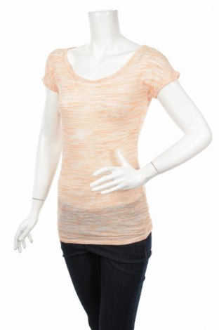 Дамска блуза Maurices, Размер XS, Цвят Оранжев, 50% вискоза, 50% полиестер, Цена 4,50лв.