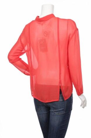 Γυναικείο πουκάμισο, Μέγεθος M, Χρώμα Πορτοκαλί, Πολυεστέρας, Τιμή 12,73€