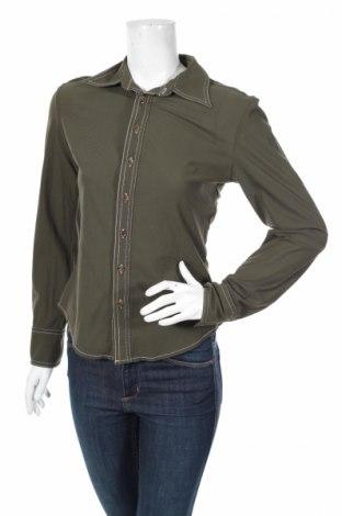Γυναικείο πουκάμισο, Μέγεθος M, Χρώμα Πράσινο, Πολυαμίδη, Τιμή 24,74€