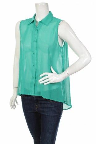 Γυναικείο πουκάμισο 17 & Co., Μέγεθος M, Χρώμα Πράσινο, Τιμή 3,67€