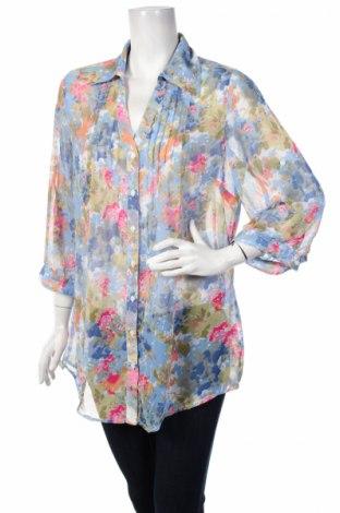 Γυναικείο πουκάμισο Gina Tricot, Μέγεθος L, Χρώμα Πολύχρωμο, 100% πολυεστέρας, Τιμή 14,23€