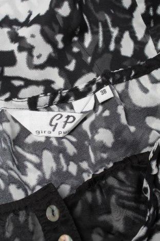 Γυναικείο πουκάμισο Gira Puccino, Μέγεθος M, Χρώμα Μαύρο, 100% πολυεστέρας, Τιμή 9,28€