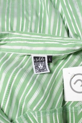 Γυναικείο πουκάμισο Isolde, Μέγεθος L, Χρώμα Πράσινο, 41% βαμβάκι, 56% πολυεστέρας, 3% ελαστάνη, Τιμή 17,94€