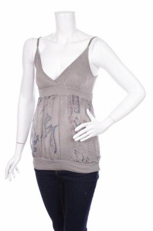 Γυναικείο αμάνικο μπλουζάκι French Fry, Μέγεθος S, Χρώμα Γκρί, 80% βισκόζη, 20% μαλλί, Τιμή 3,13€