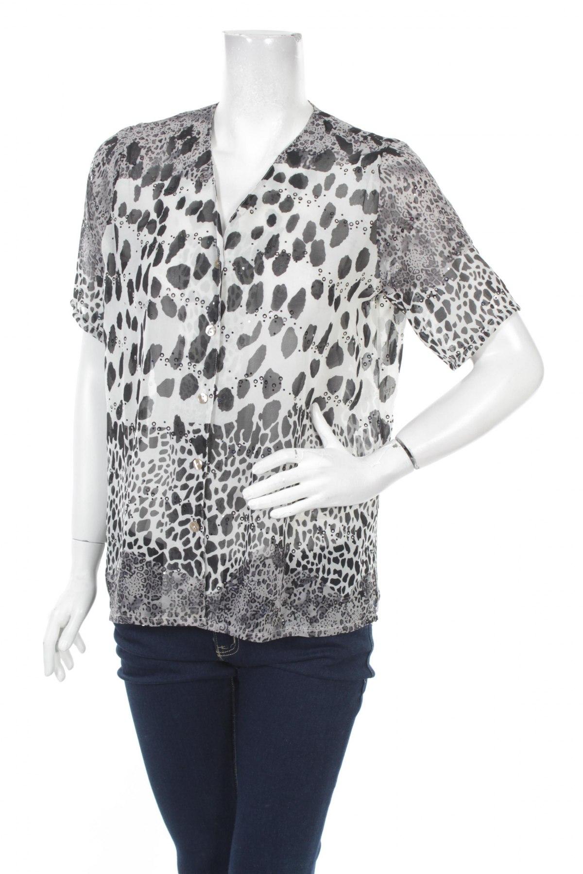 Γυναικείο πουκάμισο, Μέγεθος S, Χρώμα Λευκό, Πολυεστέρας, Τιμή 16,08€