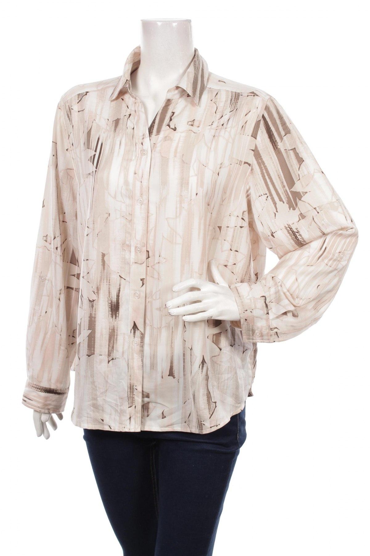 Γυναικείο πουκάμισο Chico's, Μέγεθος XL, Χρώμα Πολύχρωμο, Πολυεστέρας, Τιμή 24,12€