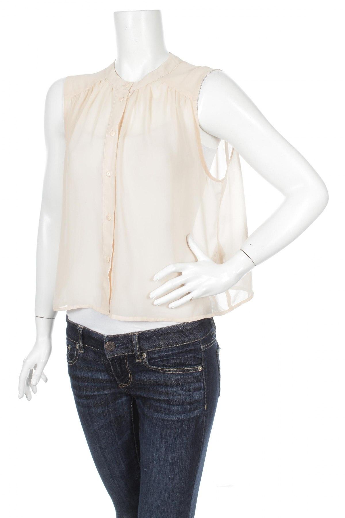 Γυναικείο πουκάμισο Monki, Μέγεθος S, Χρώμα Πορτοκαλί, 100% πολυεστέρας, Τιμή 9,28€