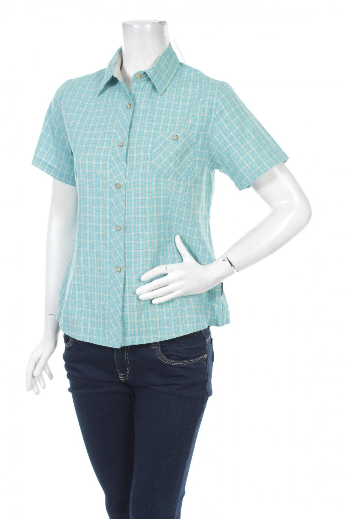 Γυναικείο πουκάμισο Moorhead, Μέγεθος M, Χρώμα Μπλέ, Βαμβάκι, Τιμή 11,75€
