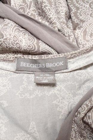 Дамска блуза Beechers Brook, Размер L, Цвят Сив, 92% полиестер, 8% еластан, Цена 18,00лв.