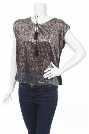 Дамска блуза Cache Cache, Размер S, Цвят Многоцветен, Полиестер, Цена 15,20лв.