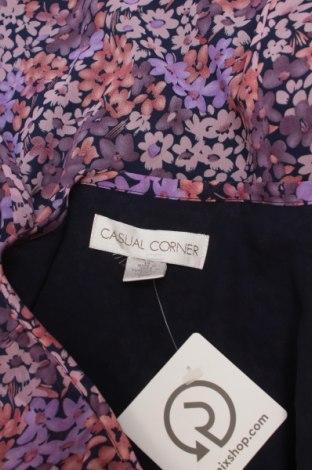 Дамска риза Casual Corner, Размер L, Цвят Многоцветен, Полиестер, Цена 17,00лв.