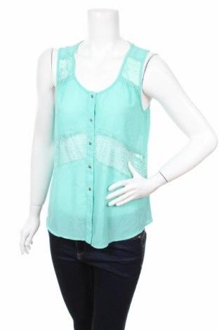 Дамска риза Pearl, Размер L, Цвят Зелен, Полиестер, Цена 3,06лв.
