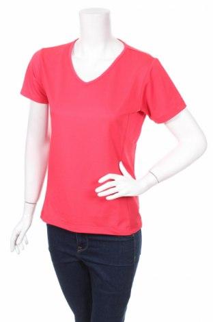 Дамска спортна блуза Crane Sports, Размер L, Цвят Розов, 95% полиестер, 5% еластан, Цена 17,00лв.